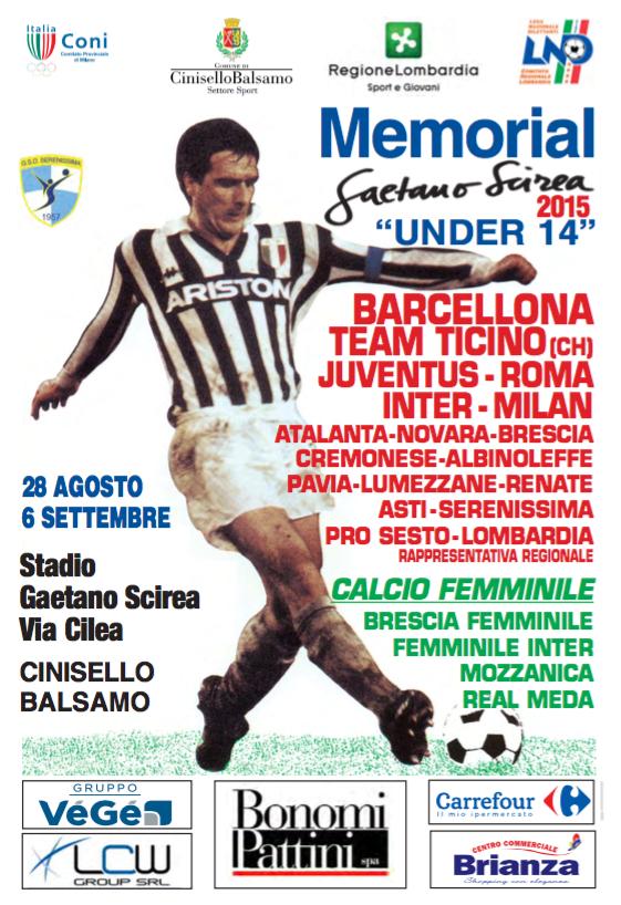 Gruppo Bonomi Pattini è Partner Ufficiale del Torneo Scirea