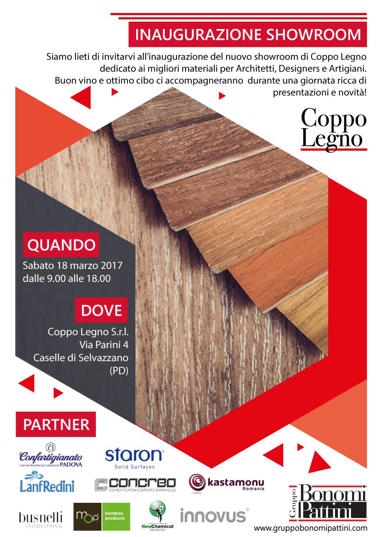 INAUGURAZIONE SHOWROOM Coppo Legno