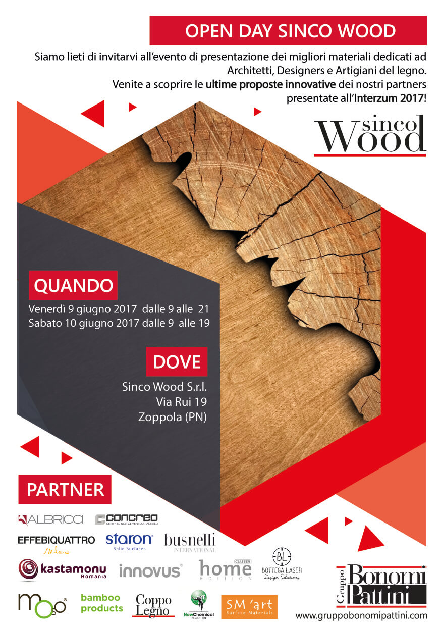 Open Day SINCO WOOD