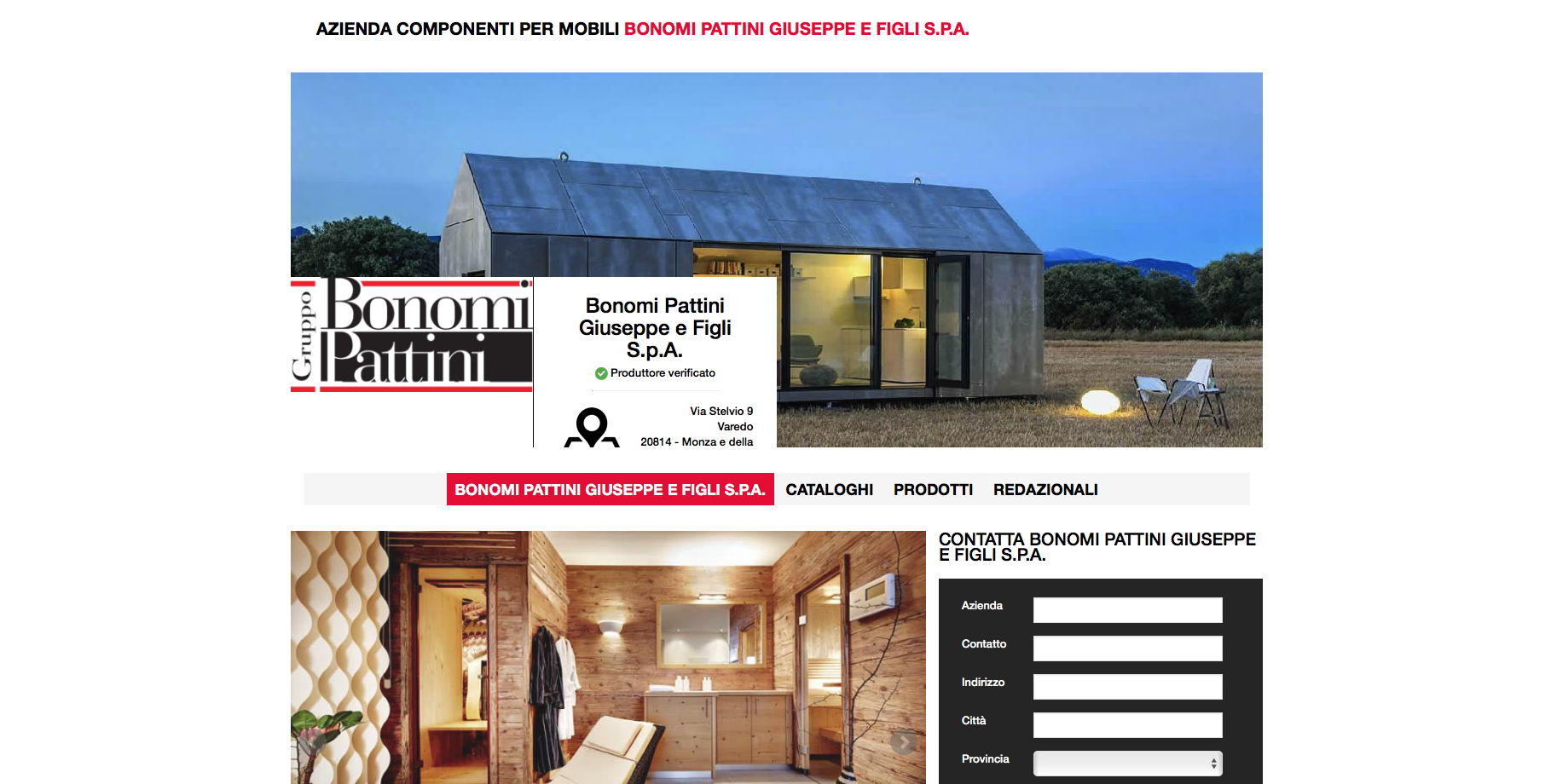 Il Gruppo Bonomi Pattini su furnishingidea.it