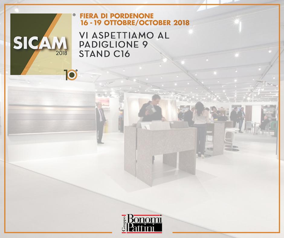 Il Gruppo Bonomi Pattini al SICAM di Pordenone | 16-19 ottobre 2018