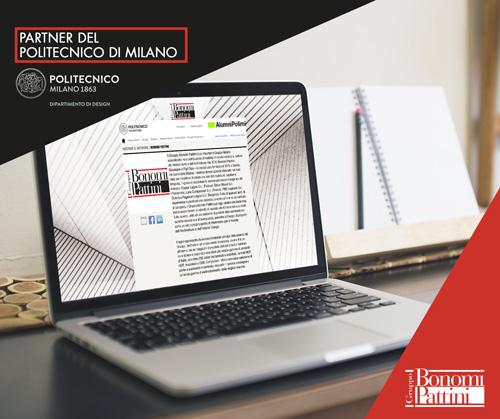 Il Gruppo Bonomi Pattini è partner del Politecnico di Milano