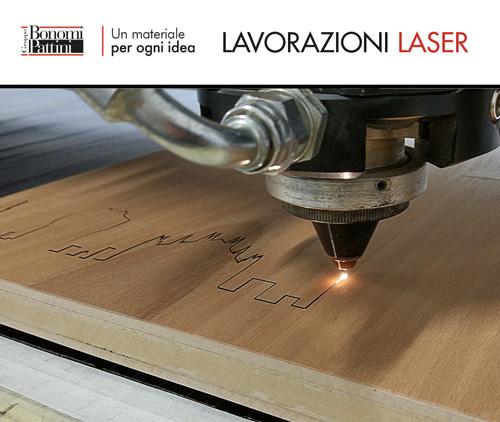 Il servizio di lavorazioni laser del Gruppo Bonomi Pattini