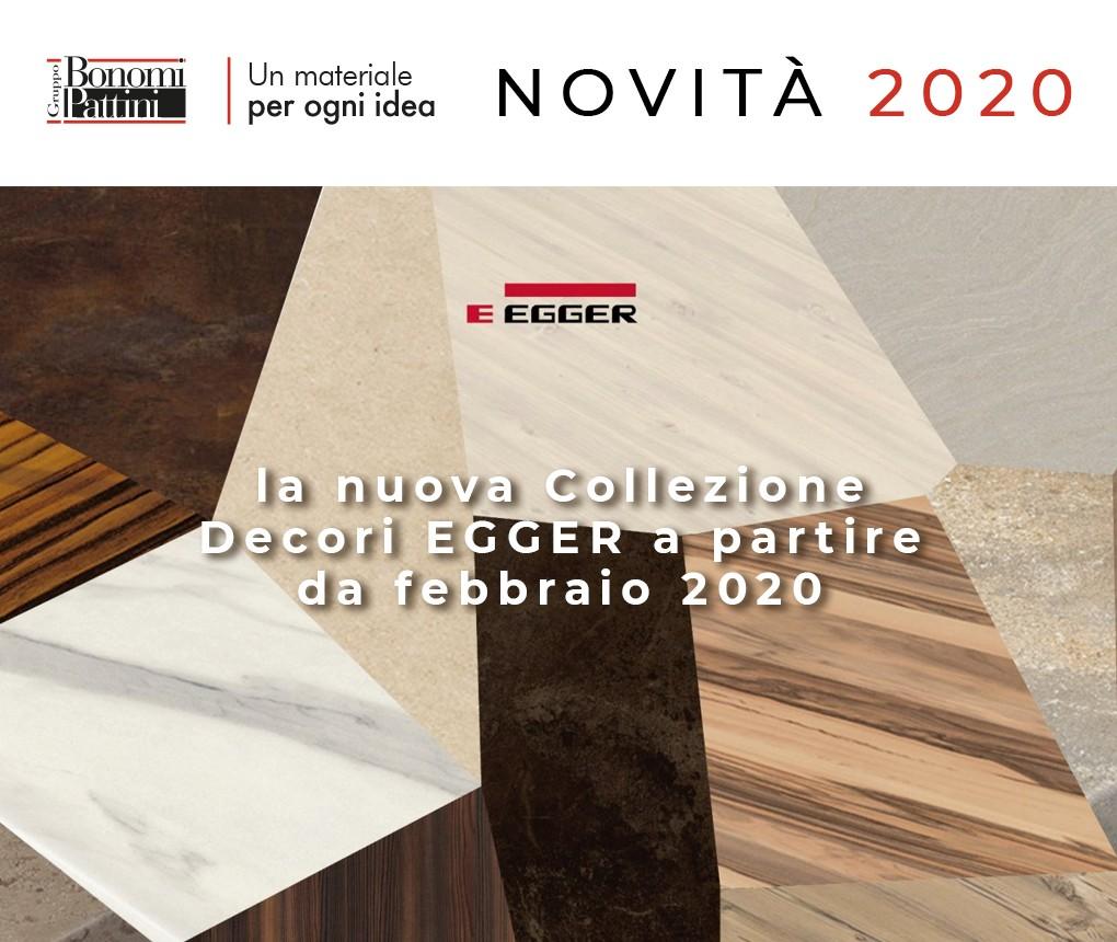 Egger: in arrivo a febbraio 2020 la nuova Collezione Decori