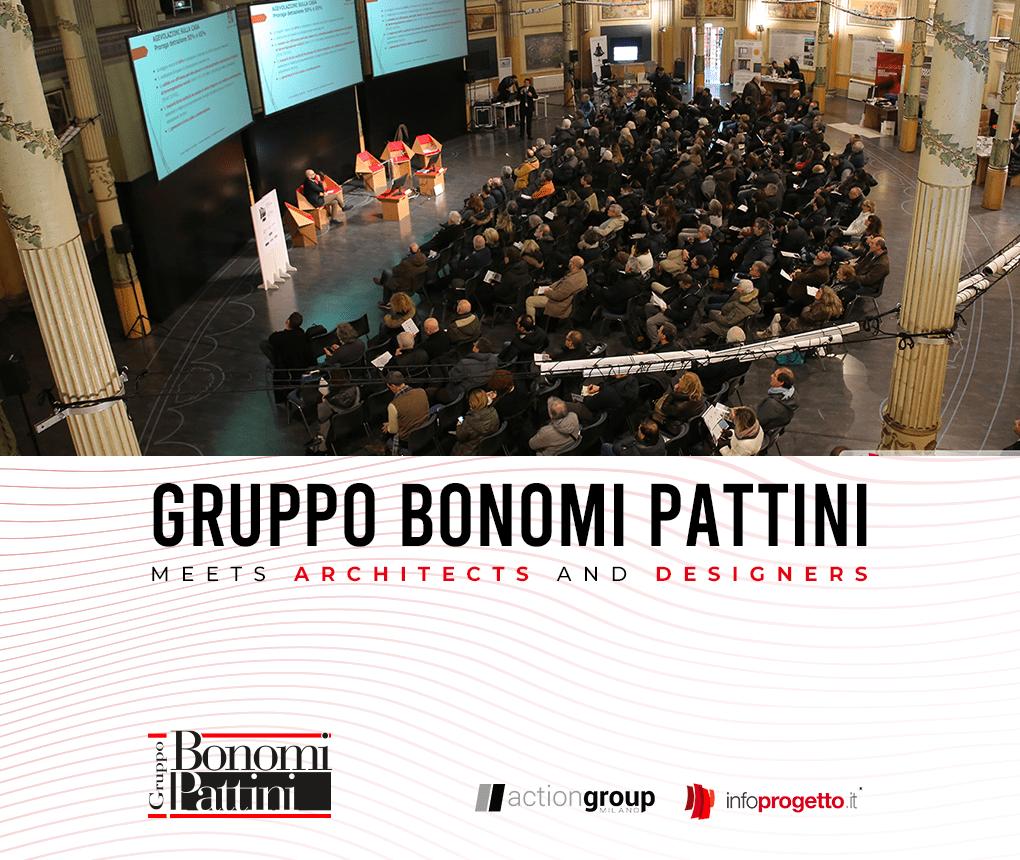 "The Bonomi Pattini Group participates in the workshop ""The building envelope"""