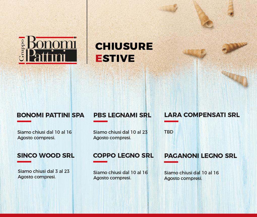 Summer Closures Bonomi Group Companies